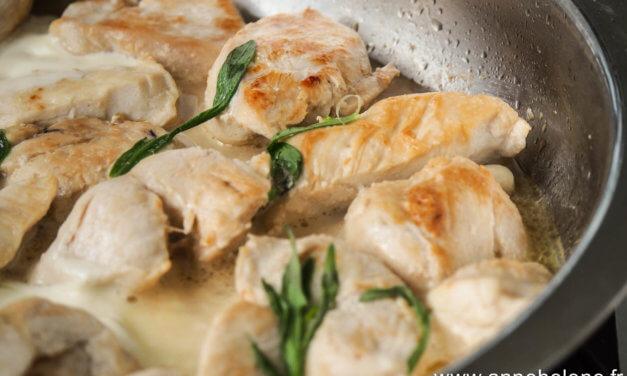 Blancs de poulet / Estragon / Crème fraîche