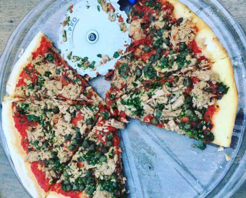 plat en verre pour pizza