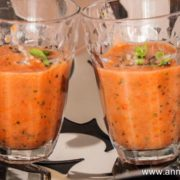 soupe tomate et fraise