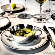 Risotto au délice de blé et lentille fondant Tipiak, céleri perpétuel