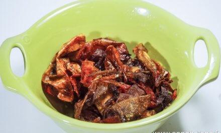 Chips / peau de tomate / c'est super bon pour l'apéro !