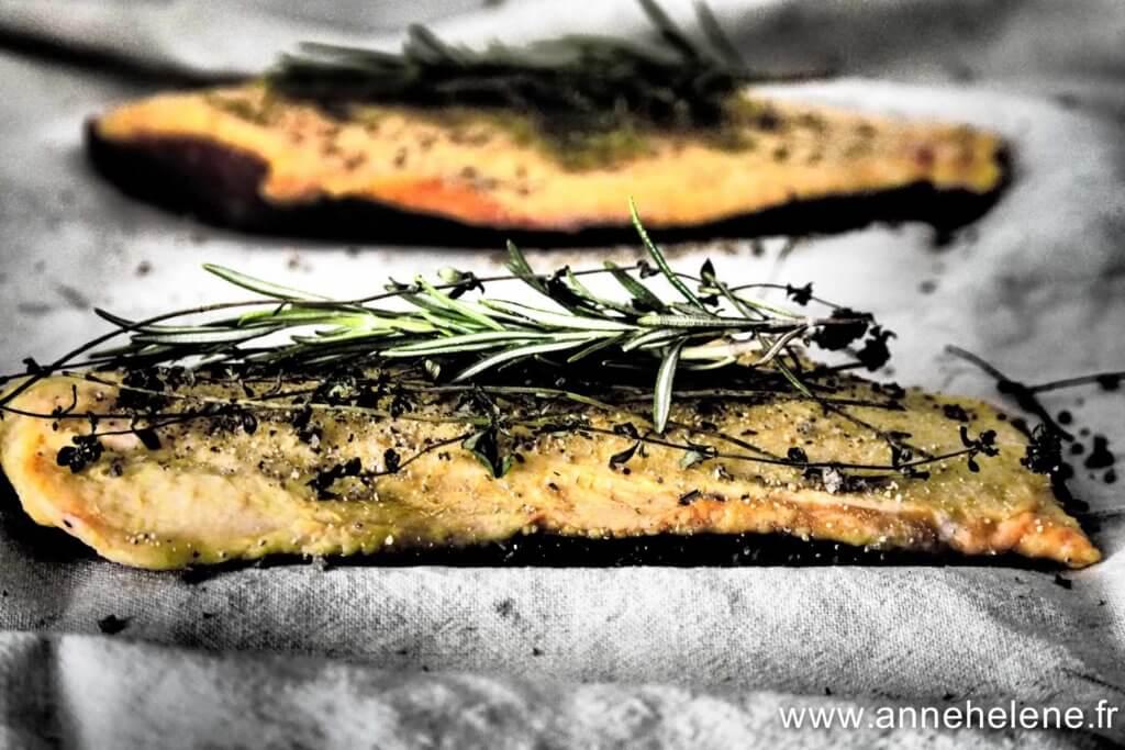 Magret de canard séché aux saveurs de Provence