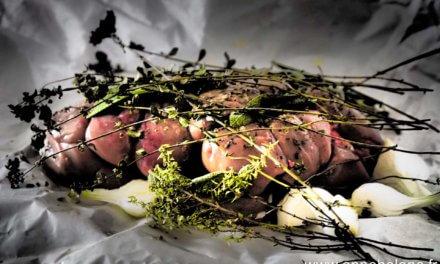 Rognons de veau / Herbes / plancha