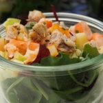 salade composée crevette