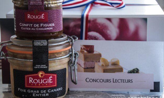 Foie Gras ROUGIÉ à vous offrir (JEU-CONCOURS)
