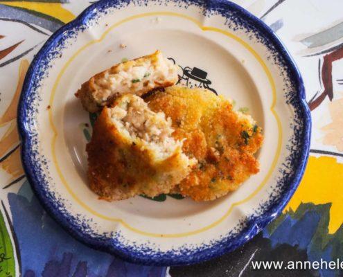 Fish cake - gâteau de poisson