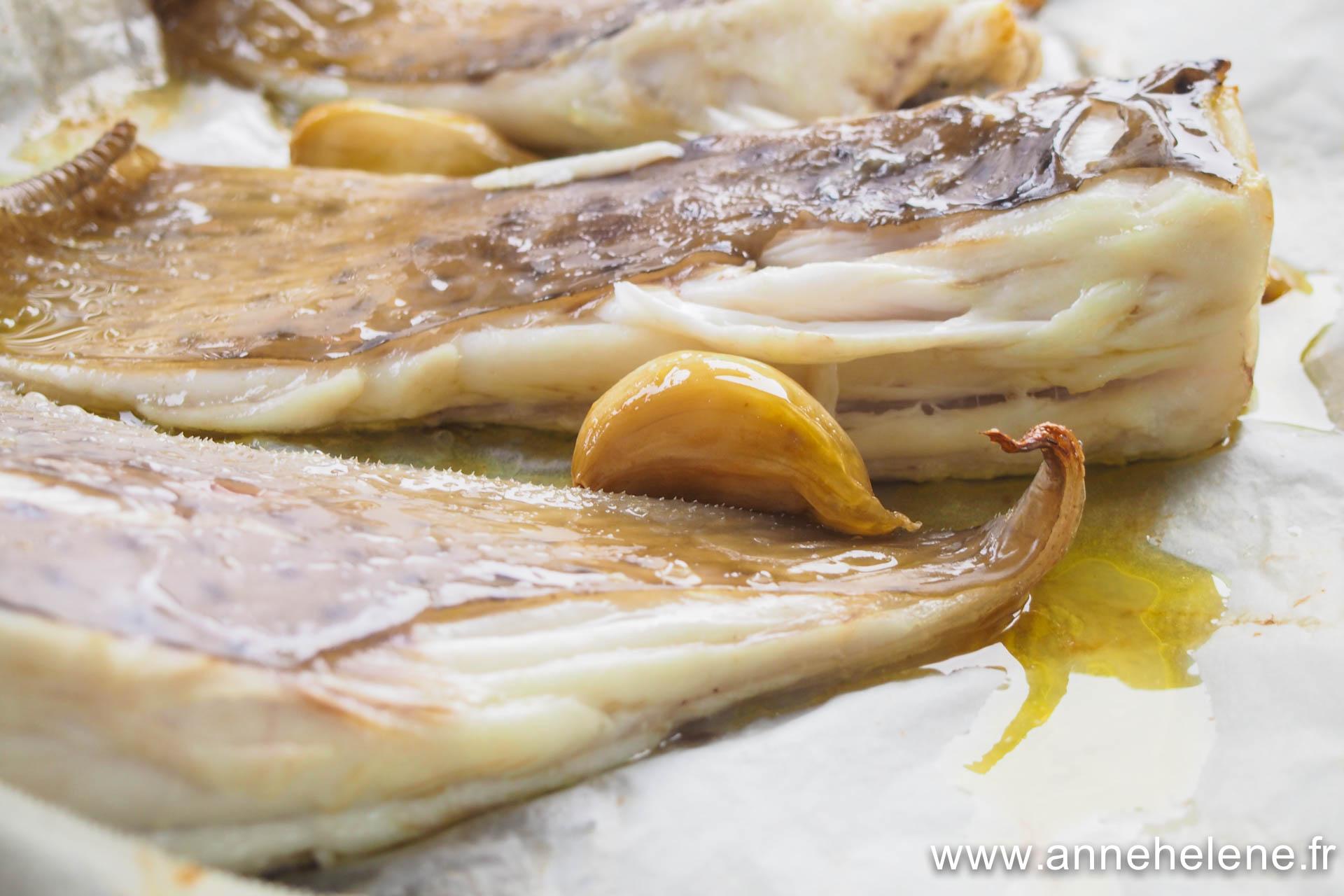 aile cuite au four recette citron