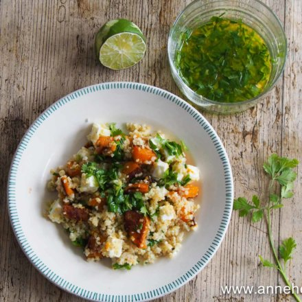 Salade quinoa  et courge butternut