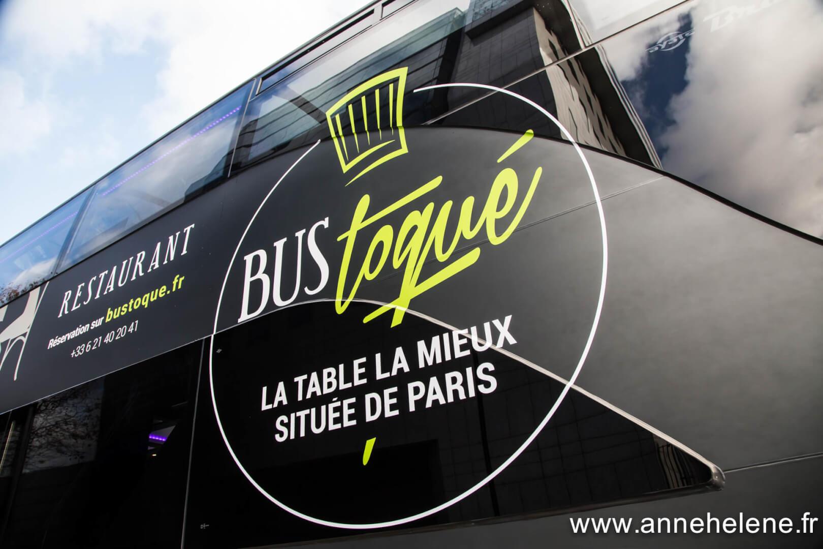 Le bus toqu d couvrez paris tout en savourant de jolis - La table de christophe valenciennes menu ...