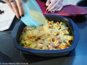 couscous aux crevettes