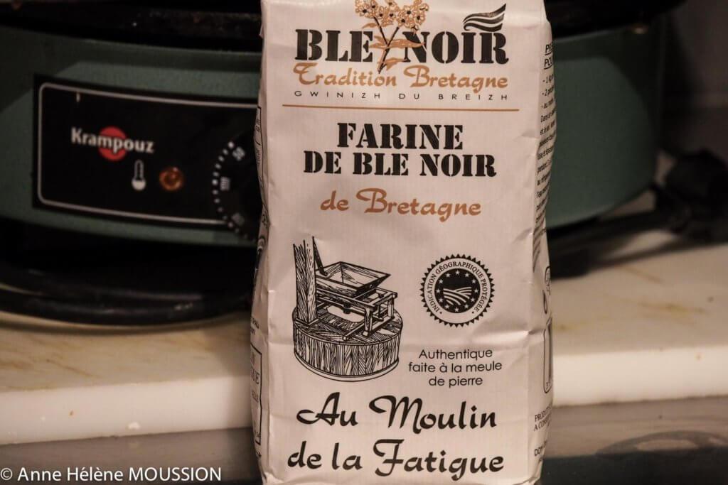 Paquet de farine Blé Noir Tradition