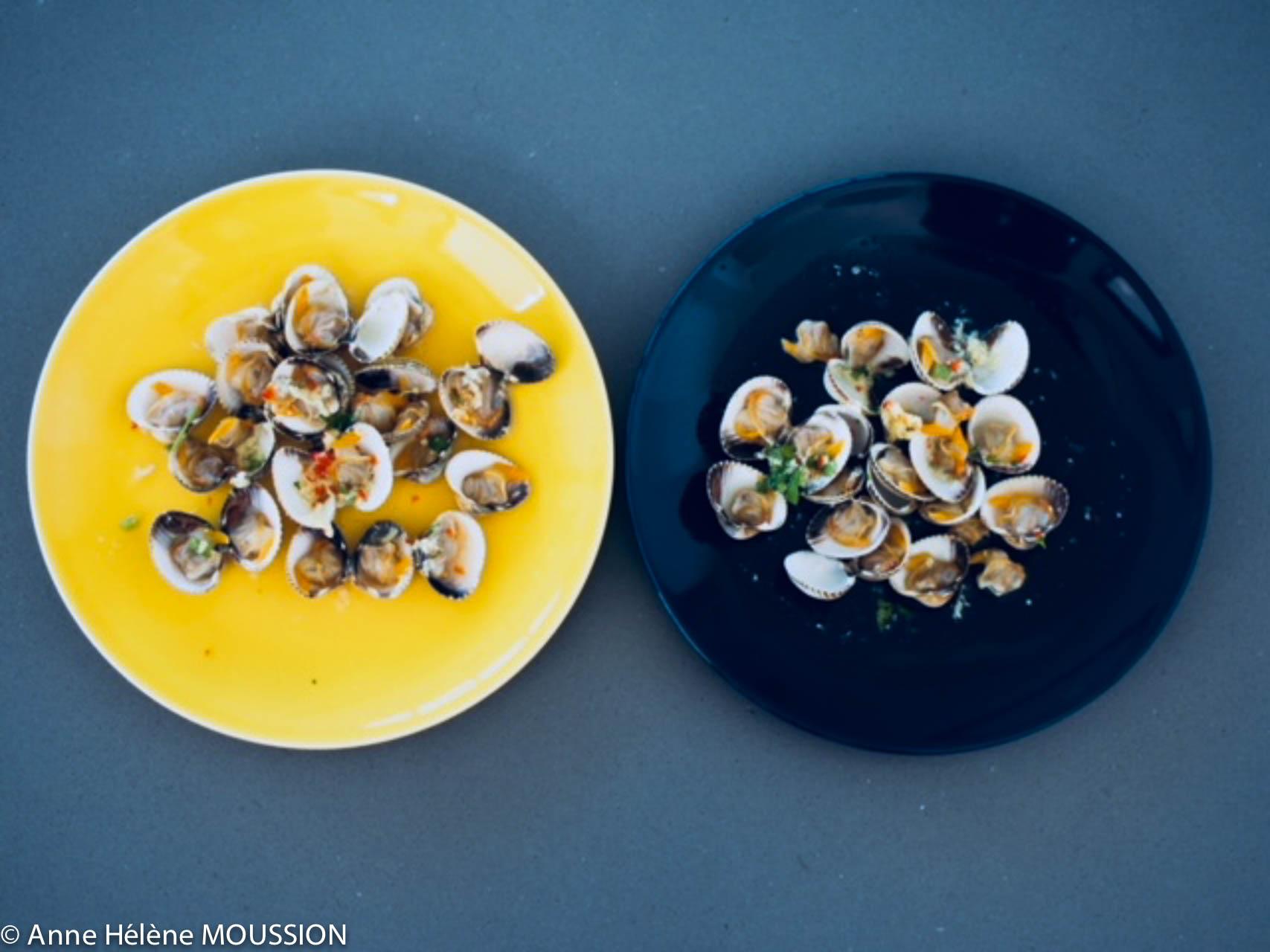 coques en salade - recette pour apéro ou entrée