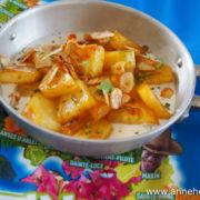 recette de gratin d'ananas au rhum