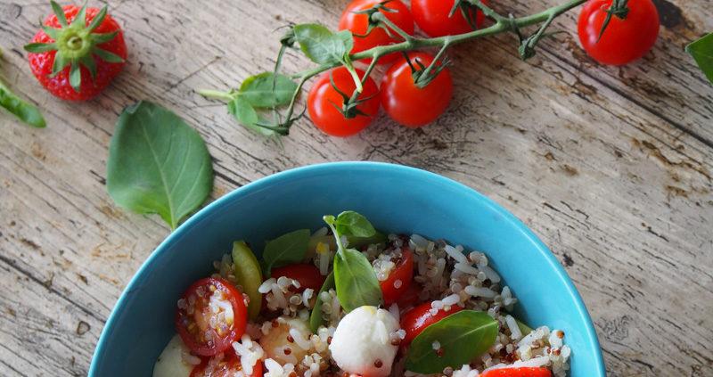 Salade riches en couleur et en saveur
