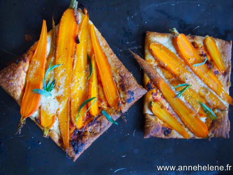 ecette de tarte à la carotte.