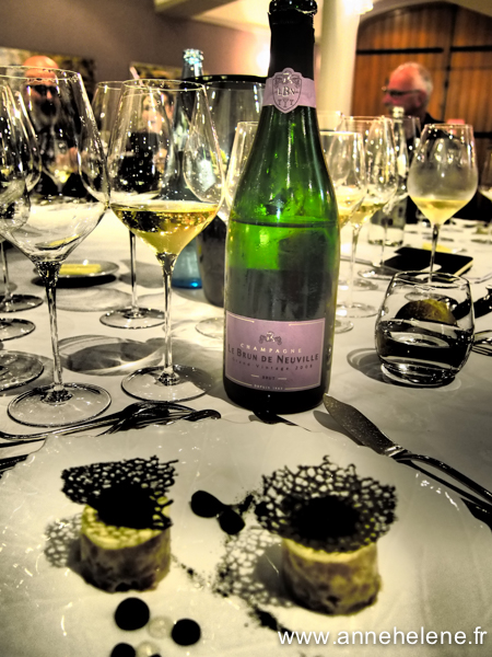 Champagne le Brun de NEUVILLE grand Vintage 2008