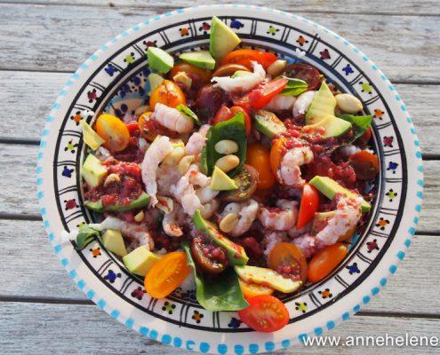 salade de langoustine