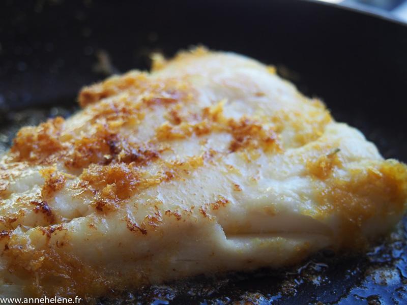 Filet de poisson blanc au citron