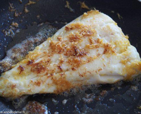 Filets de poisson meunière