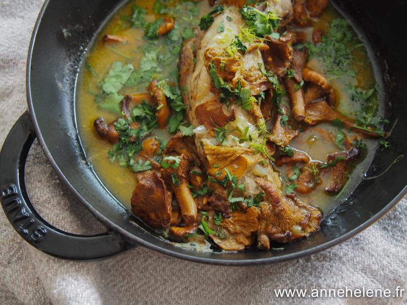 Filet mignon de porc au bouillon