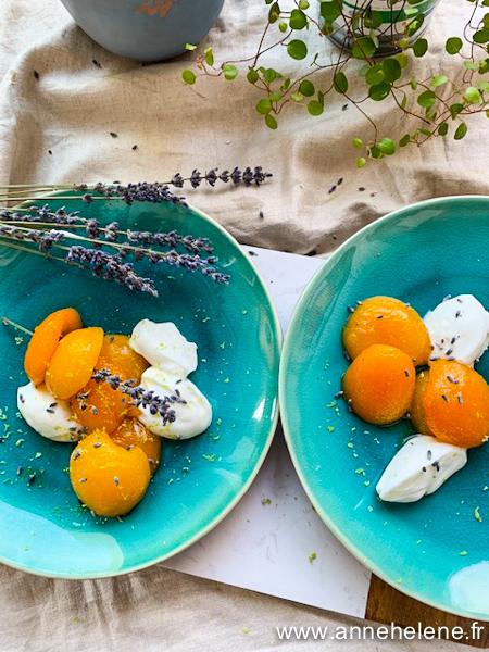Abricots pour un dessert
