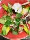 salade composée de légumes crus