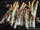 recette asperge et rhubarbe roties au four