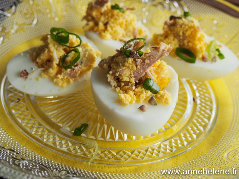 oeuf mimosa mayo
