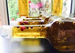 huile aromatisée recette fines herbes