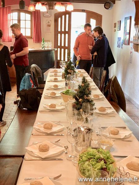 Déjeuner en compagnie de vignerons