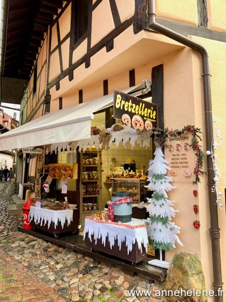 Eguisheim bretzels route vins