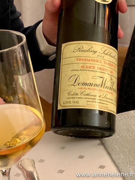 route des vins d'Alsace dégustation
