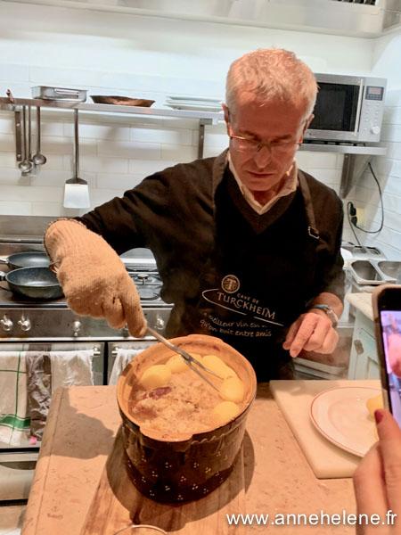 cuisson en baeckeoffe