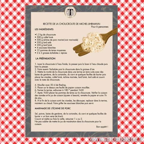 recette de choucroute cave de turckheim