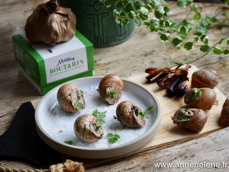 recette ail noir escargots