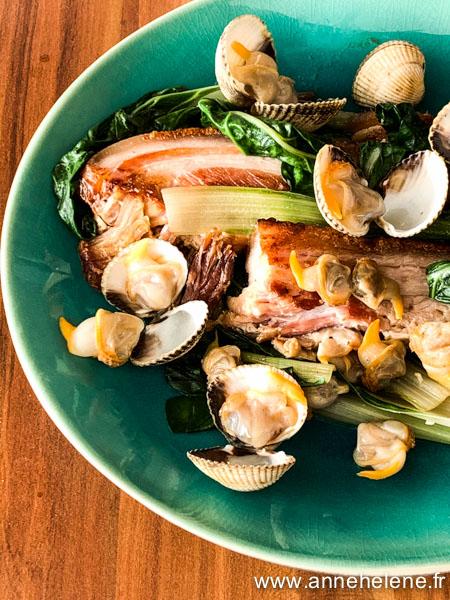 recette de porc aux coques