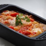 Fenouil en gratin sauce tomate