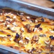 gratin de pommes de terre fromage et noisette